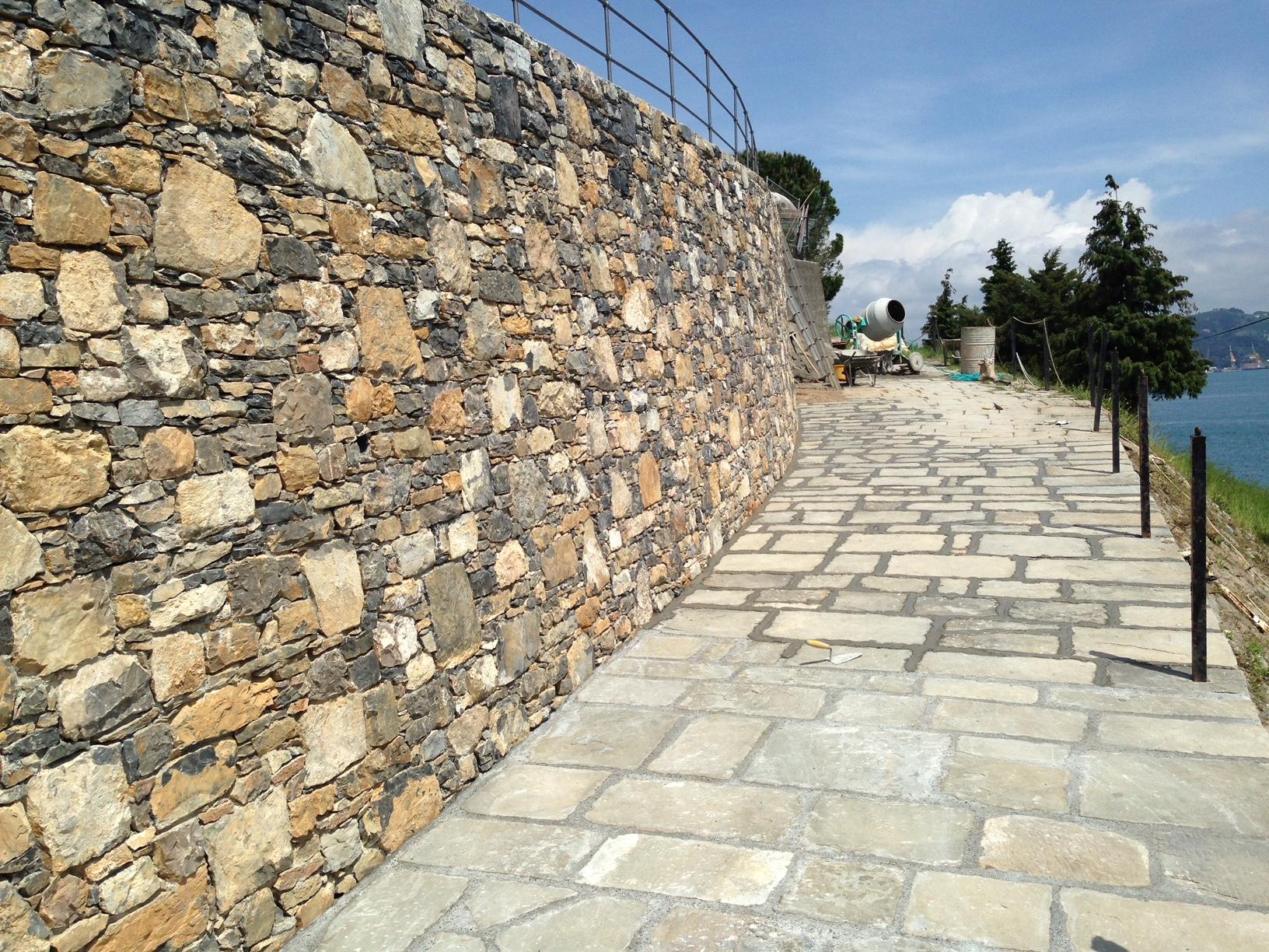 CONSUBIN muro in pietra