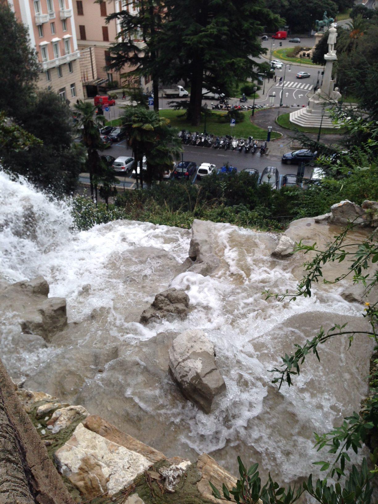 Villetta Di Negro cascata